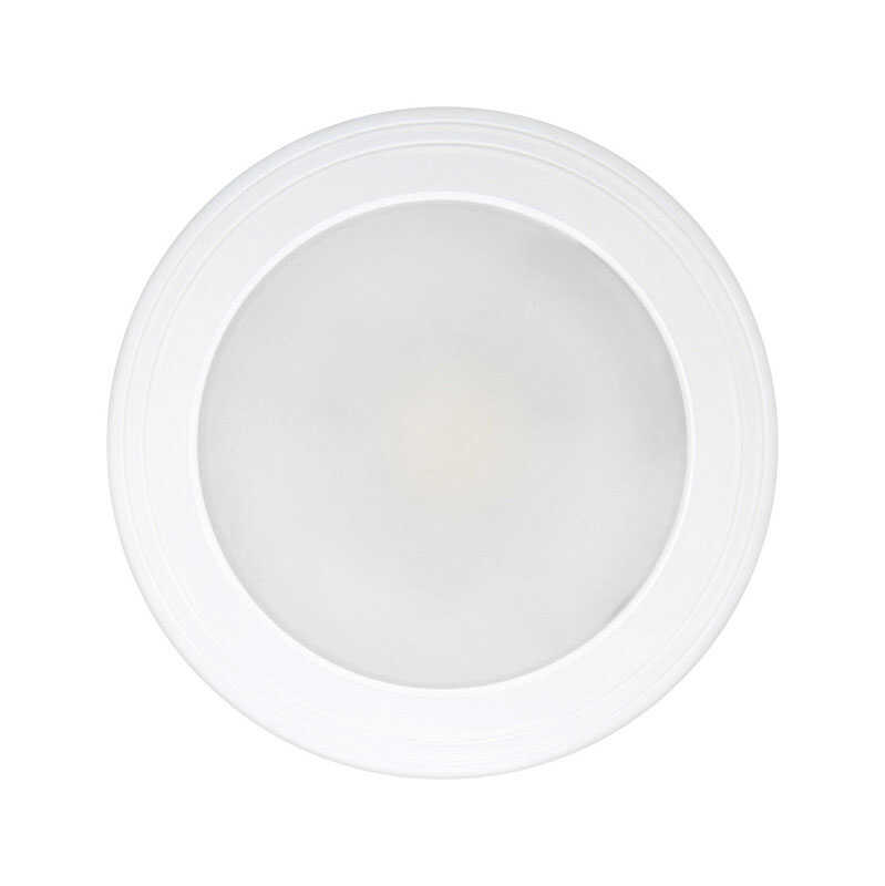 FEIT Electric  LED  2 in. H x 7.5 in. W x 7.5 in. L LED Flat Panel Light Fixture