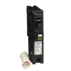 Square D  HomeLine  15 amps Arc Fault/Plug In  Single Pole  Circuit Breaker