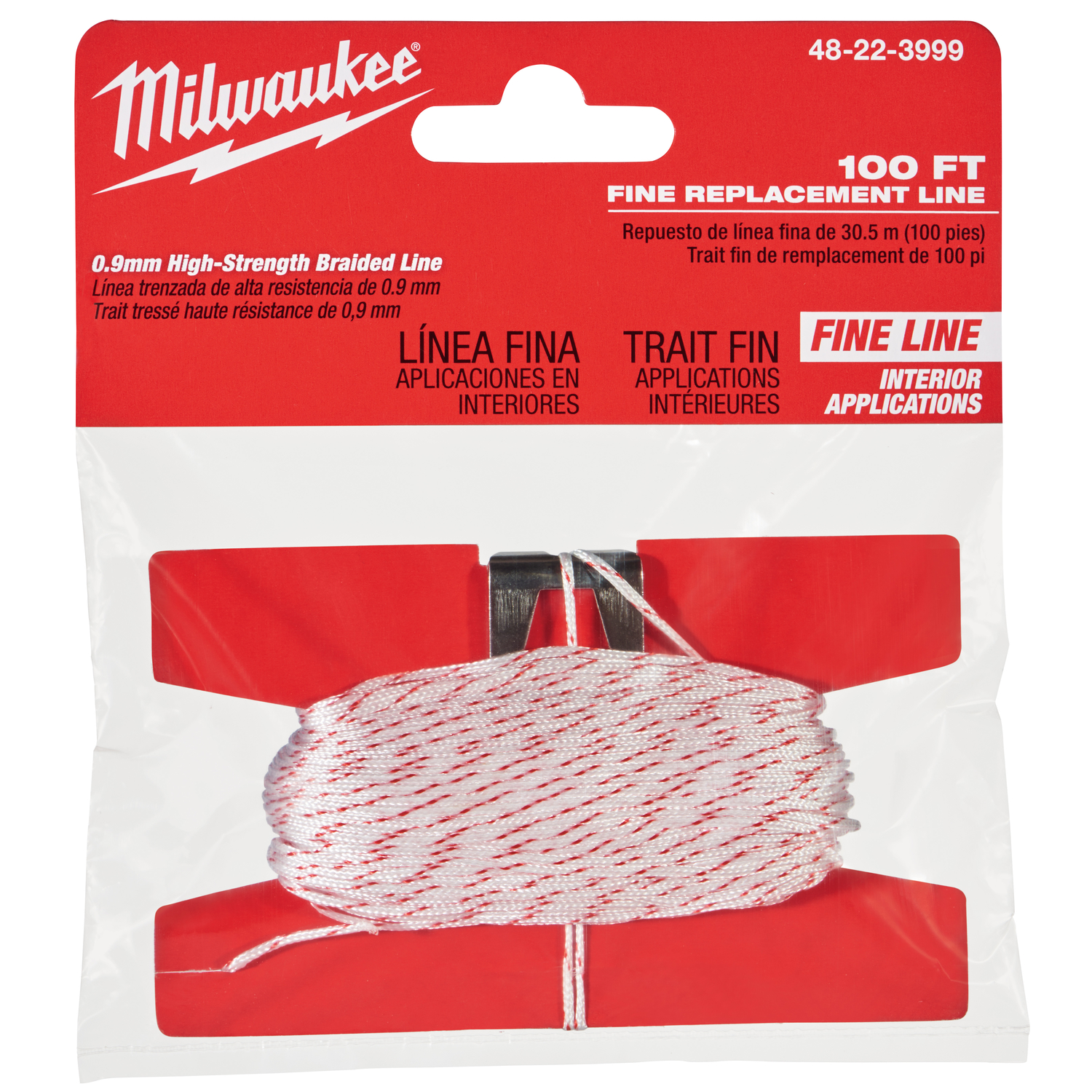 Milwaukee  Fine  Replacement Chalk String  Fine Line  100 ft.