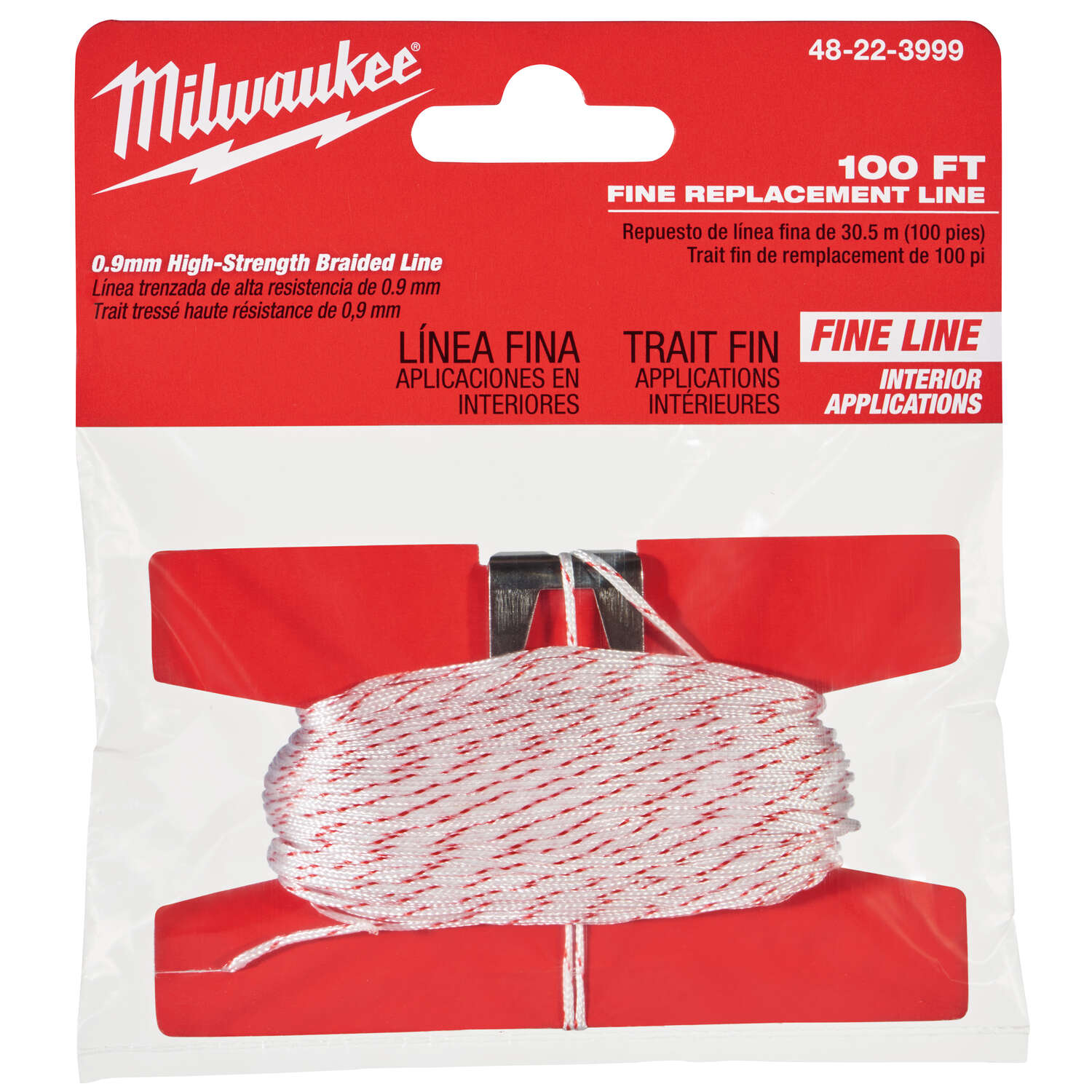 Milwaukee  Fine  Replacement Chalk String  100 ft. Fine Line