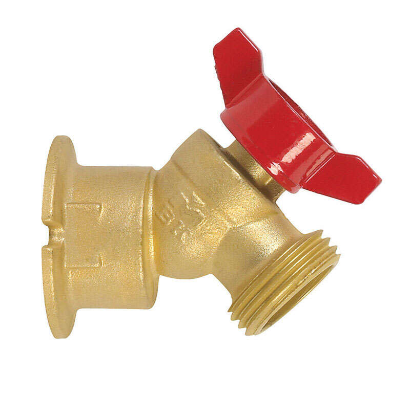 BK Products ProLine 3/4 in. FIP Brass Sillcock Valve