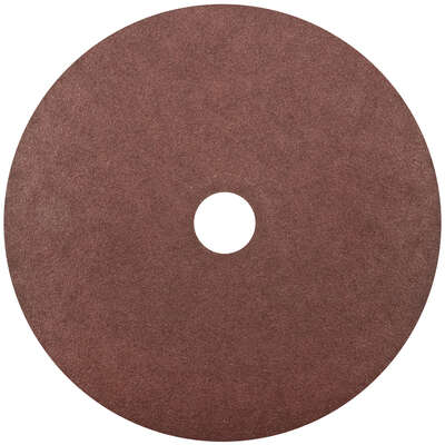 Norton 7 in. Aluminum Oxide Center Mount F226/F240 Fiber Disc 80 Grit Coarse 1 pk
