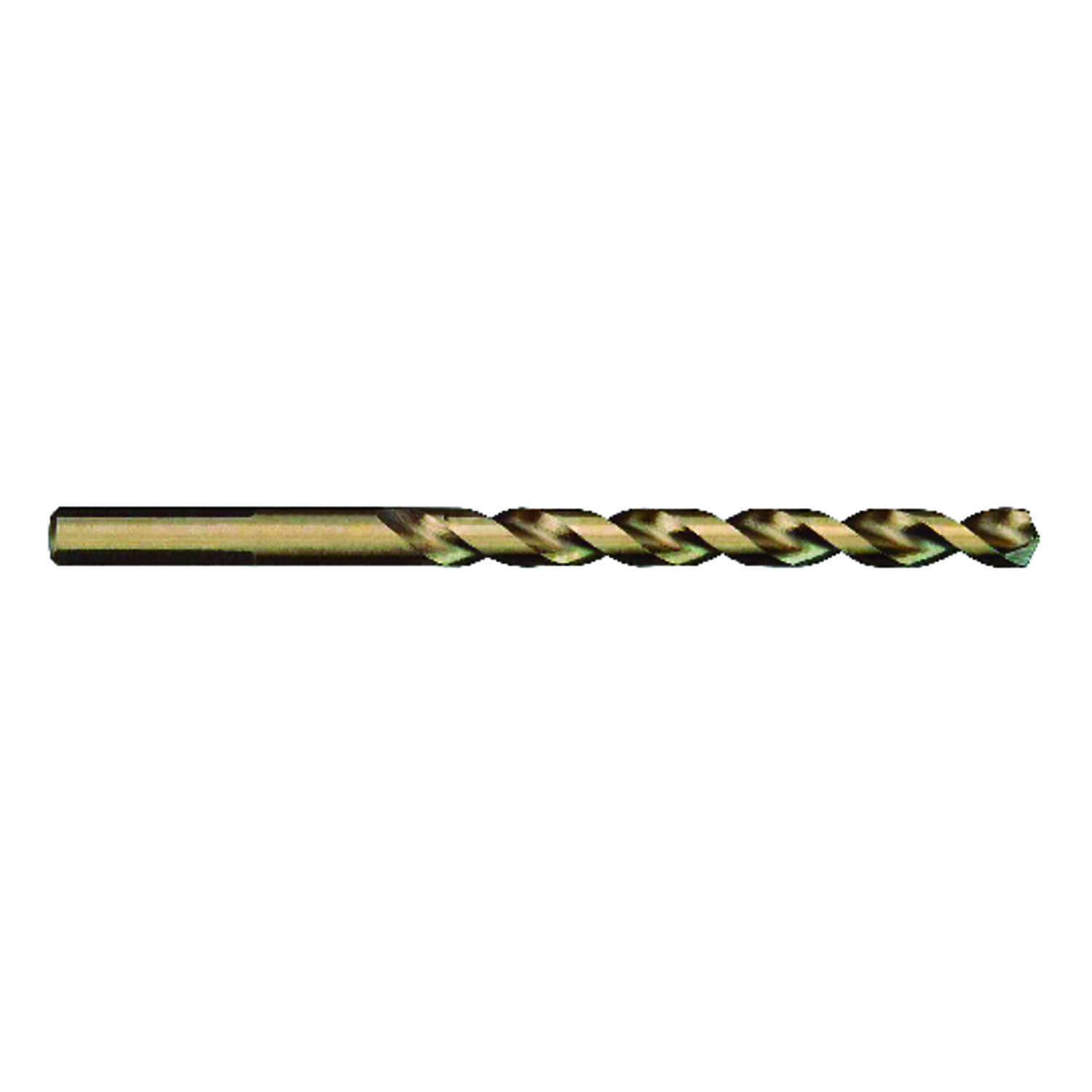 Milwaukee  RED HELIX  3/8 in. Dia. x 5 in. L Cobalt Steel  Drill Bit  3-Flat Shank  THUNDERBOLT  1 p