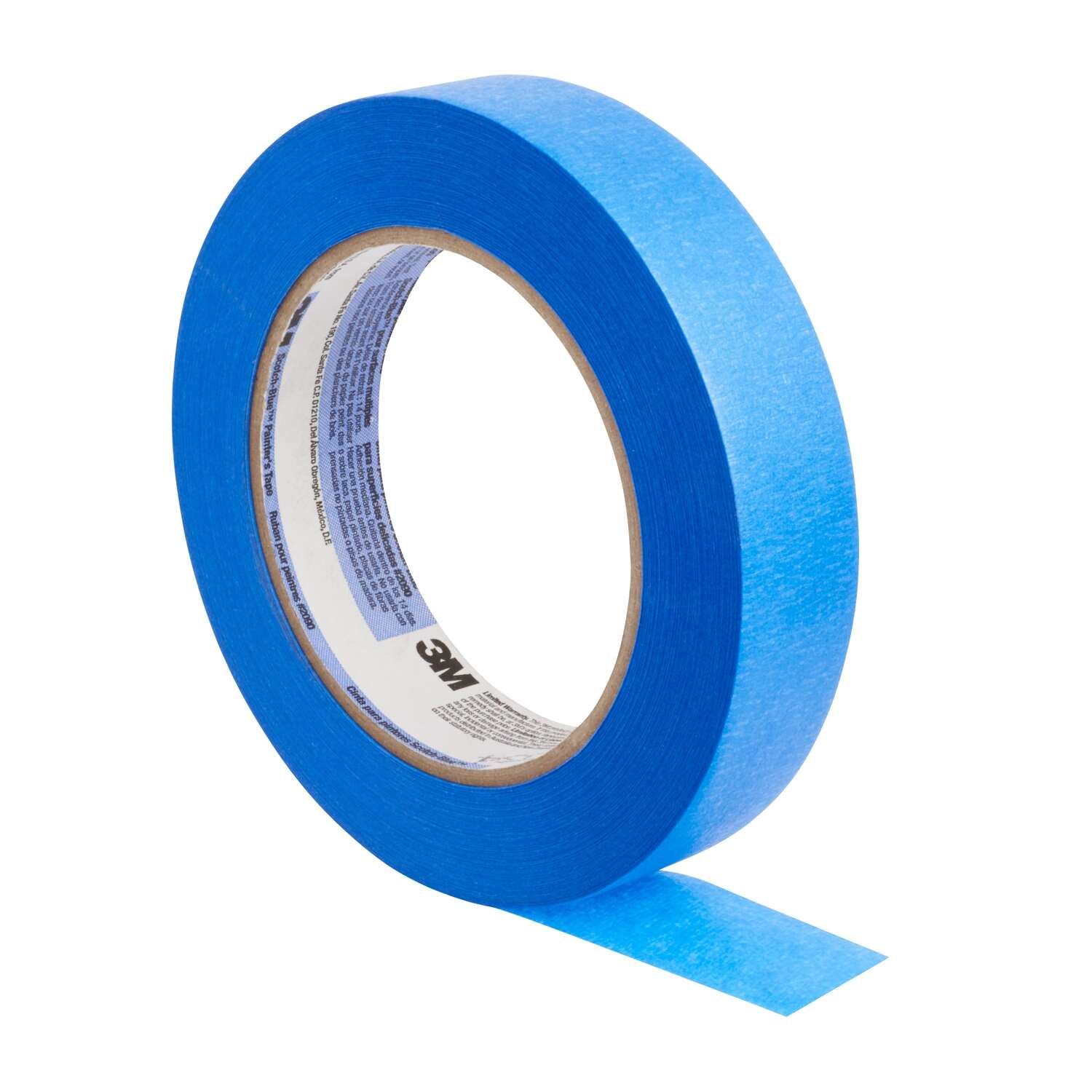 Scotch-Blue  .94 in. W x 60 yd. L Medium Strength  Masking Tape  Blue  9 pk