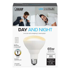 FEIT Electric  Intellibulb  BR30  E26 (Medium)  LED Smart Bulb  Color Changing  65 watt Watt Equival