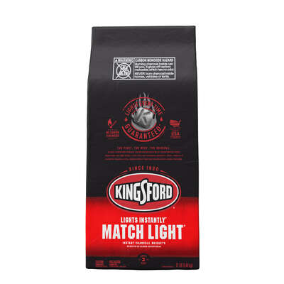 Kingsford  Match Light  Premium Blend  Charcoal Briquettes  12 lb.