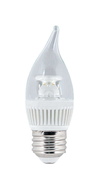 FEIT Electric  4.8 watts CA10  LED Bulb  310 lumens Daylight  Decorative  40 Watt Equivalence