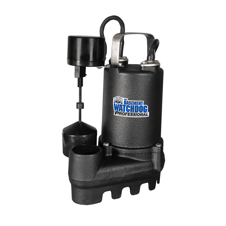 Basement Watchdog Professional 1/3 Hp 4000 Gph Cast Iron