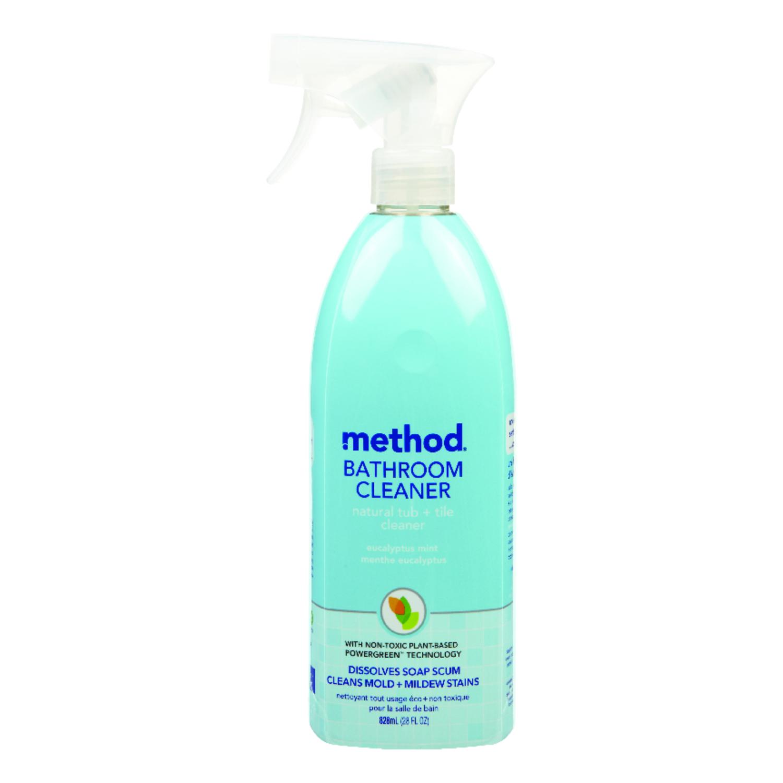 Method Eucalyptus Mint Scent Bathroom Tub And Tile Cleaner Oz - Tub and tile bathroom cleaner