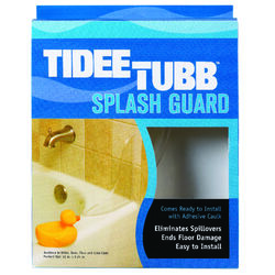 Plumb Pak Tidee-Tubb Ultra Clear Plastic Splash Guard