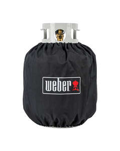 Weber  Black  Propane Tank Cover  13.99 in. W x 13.99 in. D x 16.54 in. H For Fits 20 lb. Tanks