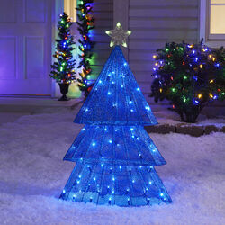 Sylvania  Illuminet  Plug-In  Tree  LED Yard Art