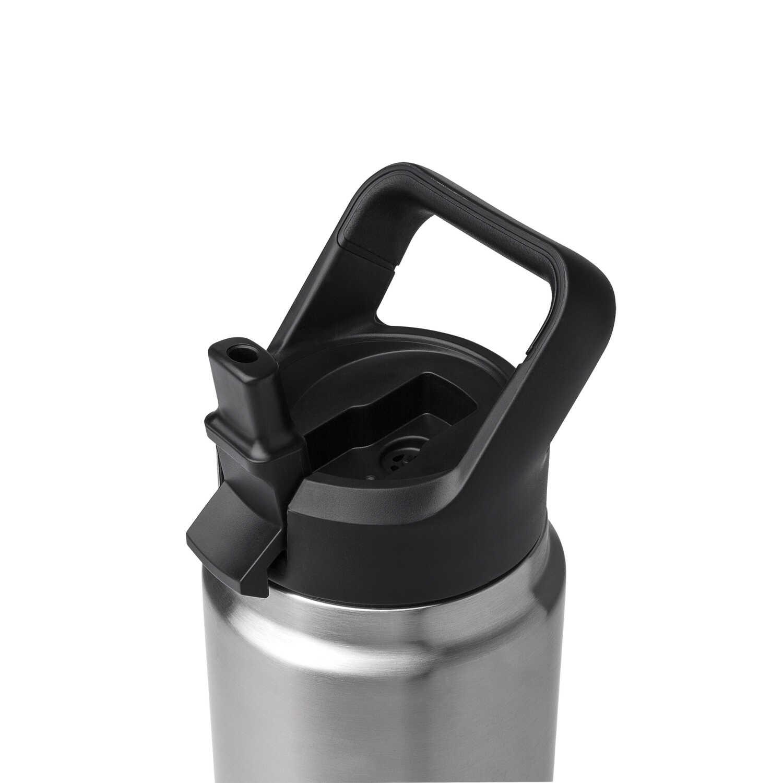 Yeti Rambler Water Bottle Cap Black 1 Pk Ace Hardware