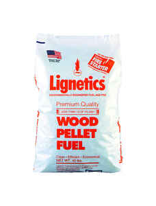 Lignetics  Douglas Fir  Wood Pellet Fuel  40 lb.