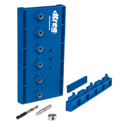 Kreg  Nylon  Shelf Pin Jig  Blue