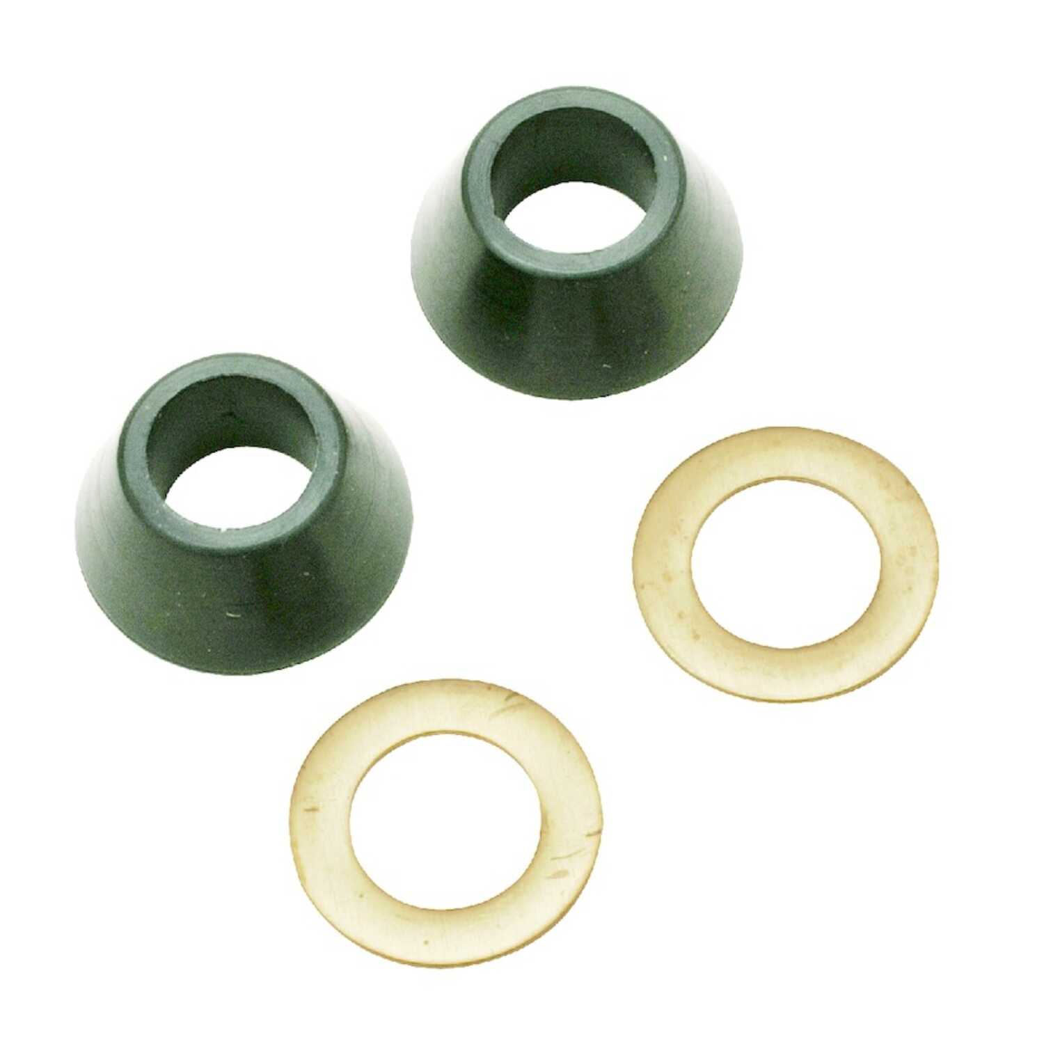 Ace  1/2 in. Dia. Rubber  Cone Washer and Ring  2