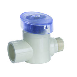 KBI 1/2 in. CTS x 3/8 in. Dia. Compression CPVC Valve