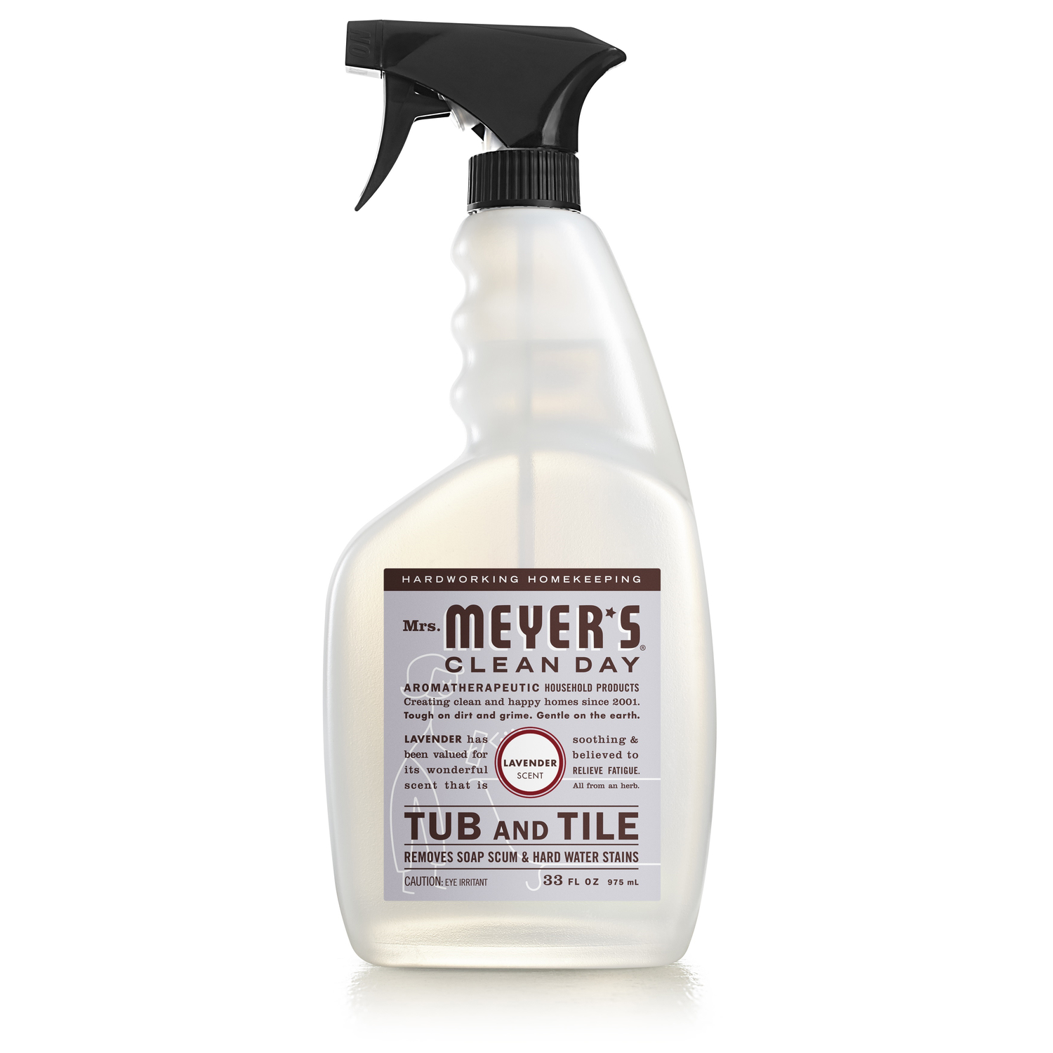 Mrs. Meyer's  Lavender Scent Tub and Tile Cleaner  33 oz. Trigger Spray Bottle