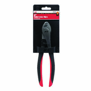 Ace  8 in. L Multicolored  Cable Cutter Pliers  24 Ga.