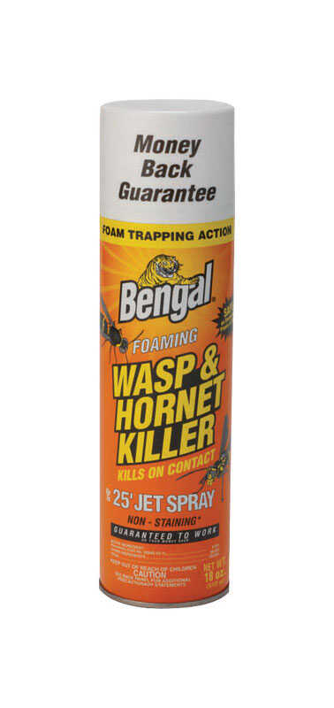 Bengal  Foaming  Insect Killer  18 oz.
