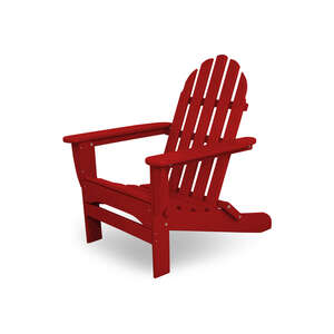 Ivy Terrace  Folding  Red  Polypropylene  Chair