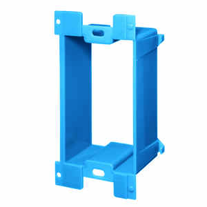 Carlon  4.22 in. Rectangle  PVC  1 gang Box Extension  Blue