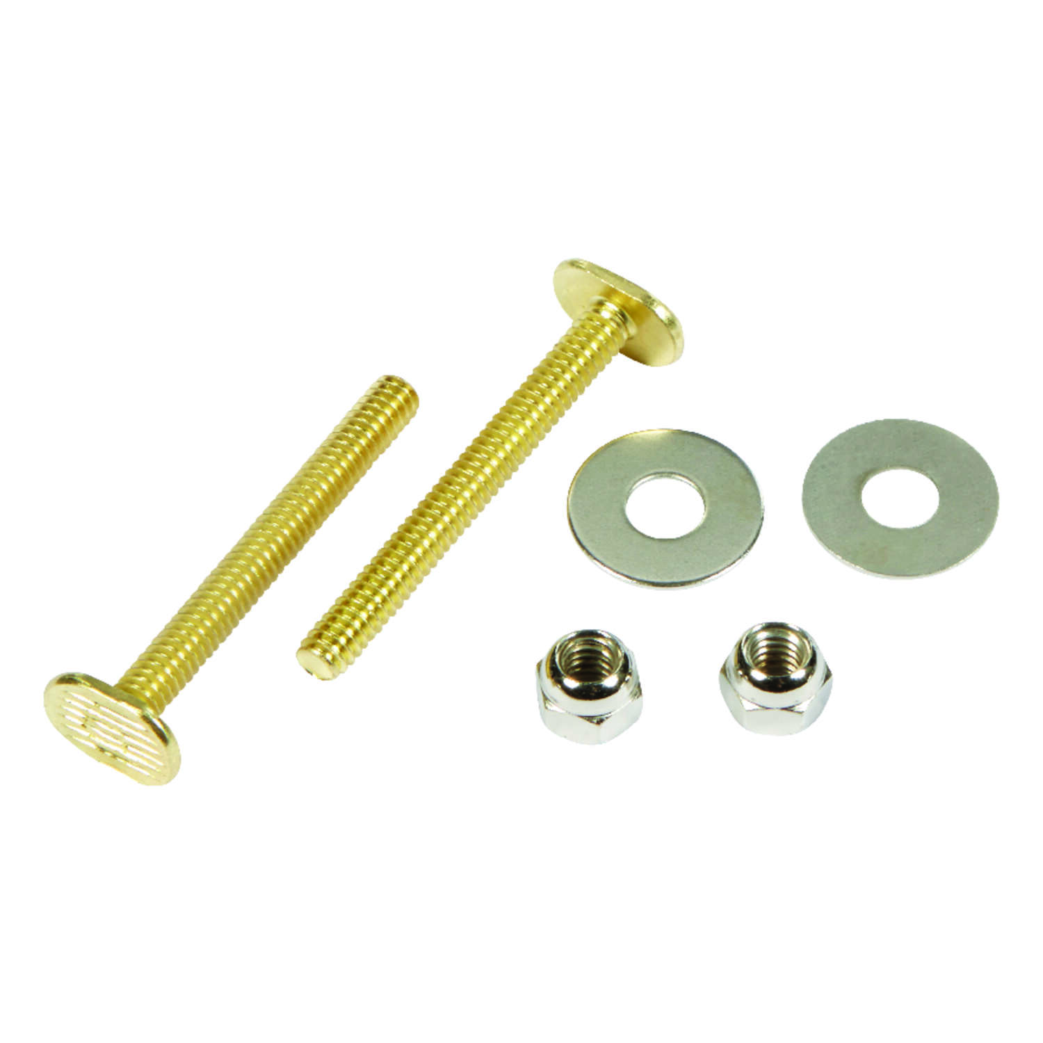 Ace  Toilet Bolt Set  1/4 in. H x 2-1/4 in. L Brass