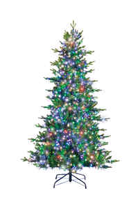 Holiday Bright Lights  National Lampoon's Griswold's  Multicolored  Prelit 7 ft. Artificial Tree  30