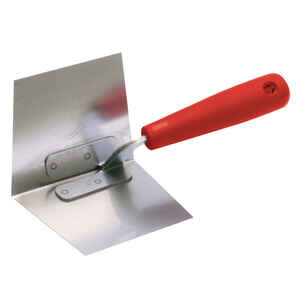 Marshalltown  5 in. W Stainless Steel  Trowel  Corner