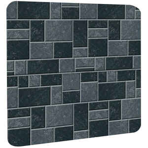 Imperial Manufacturing  28 in. L x 32 in. W Stove Board  Slate