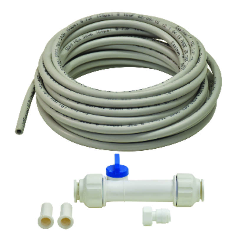 Ace  1/4 in. Dia. x 25 ft. L Ice Maker/Water Line Installation Kit