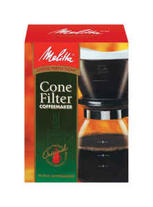 Melitta  10 cups Black  Pour-Over Coffee Brewer