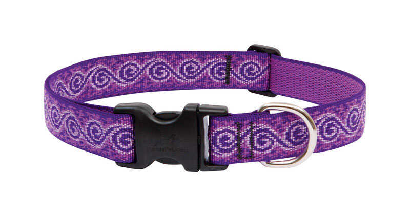 Lupine Pet  Original Designs  Multicolor  Jelly Roll  Nylon  Dog  Adjustable Collar