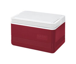 Igloo  Legend  Cooler  5 qt. Red