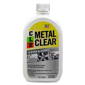 CLR  No Scent Metal Cleaner  12 ounce  Liquid