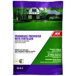Ace Crabgrass Preventer 29-0-3 Lawn Fertilizer 5000 sq. ft. For All Grasses