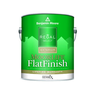 Benjamin Moore  Regal  Flat  Tintable Base  Base 4  Acrylic  Paint  Outdoor  1 gal.