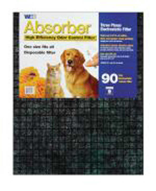 Web  Absorber  20 in. W x 25 in. H x 1 in. D Polyester  9 MERV Pleated Air Filter