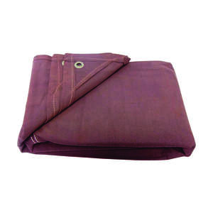 Ace  10 ft. W x 12 ft. L Canvas  Tarpaulin  Brown  Heavy Duty