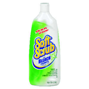 Soft Scrub  No Scent Heavy Duty Cleaner  24 oz. Cream