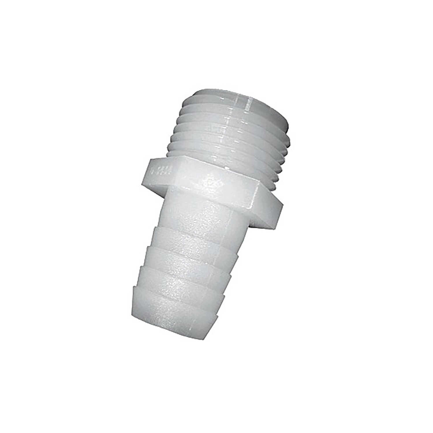 Green Leaf  3/4 in. MGHT   x 1/2 in. Dia. Barb  Nylon  Adapter