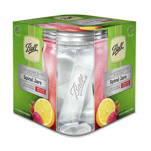 Ball  Collection Elite  Regular Mouth  Canning Jar  1 pt. 4 pk