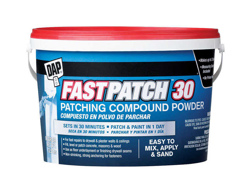 DAP  FastPatch 30  White  Patching Compound Powder  3.5 lb.