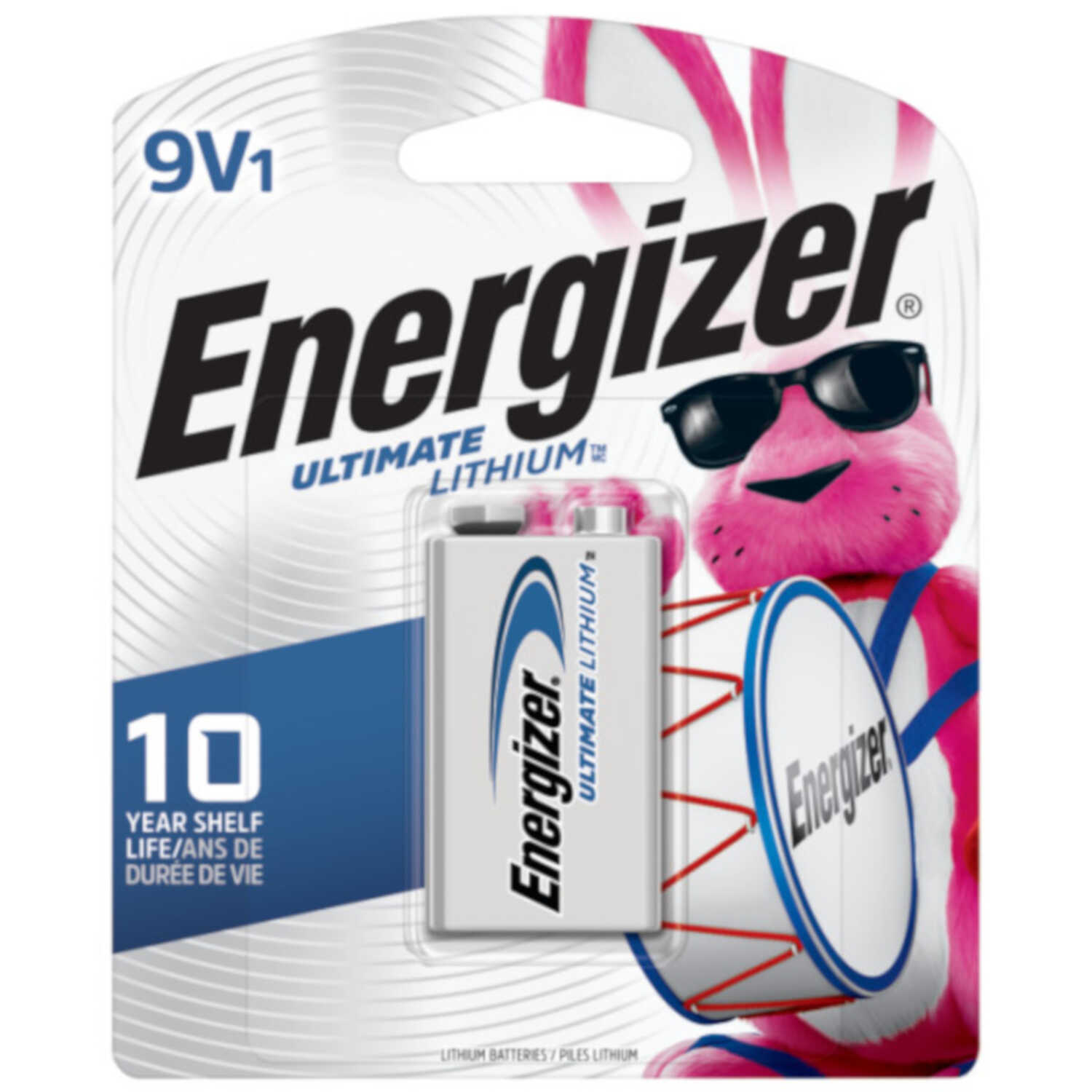 Energizer  Advanced  Lithium  9-Volt  Batteries  1 pk