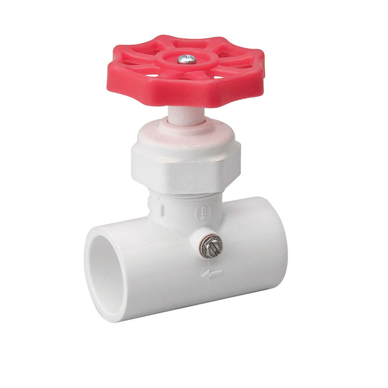 ProLine  1/2 in.  x 1/2 in.  Stop Valve  Stop and Waste  PVC