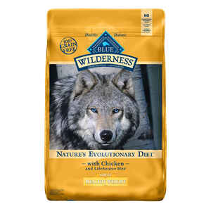 Blue Buffalo  Blue Wilderness Healthy Weight  Chicken  Dry  Dog  Food  Grain Free 24 lb.