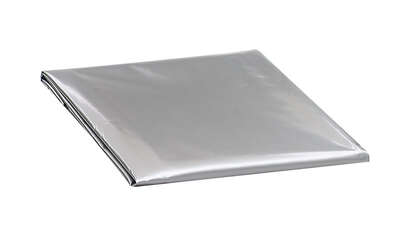 M-D Building Products  18 in. H x 16 in. W Polyethylene  Gray  Square  Air Conditioner Cover