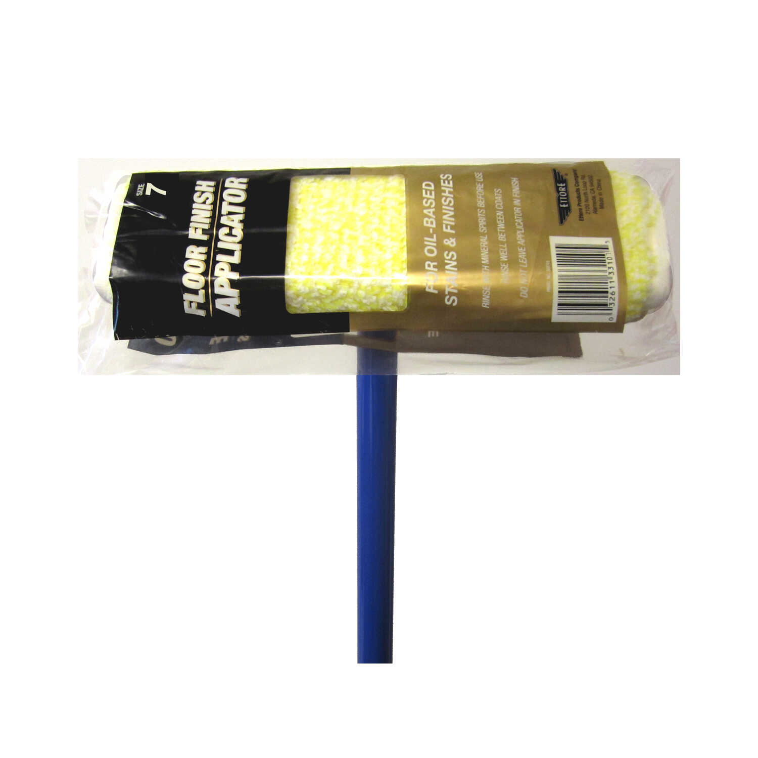 Ettore  7 in. W Sponge  Fiber  Applicator