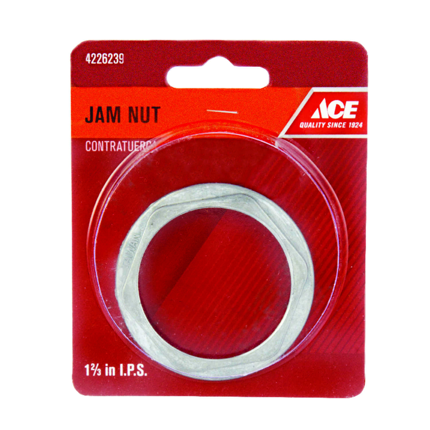 Ace  Stainless Steel  Die Cast Jam Nut  1-2/3 in. Dia.