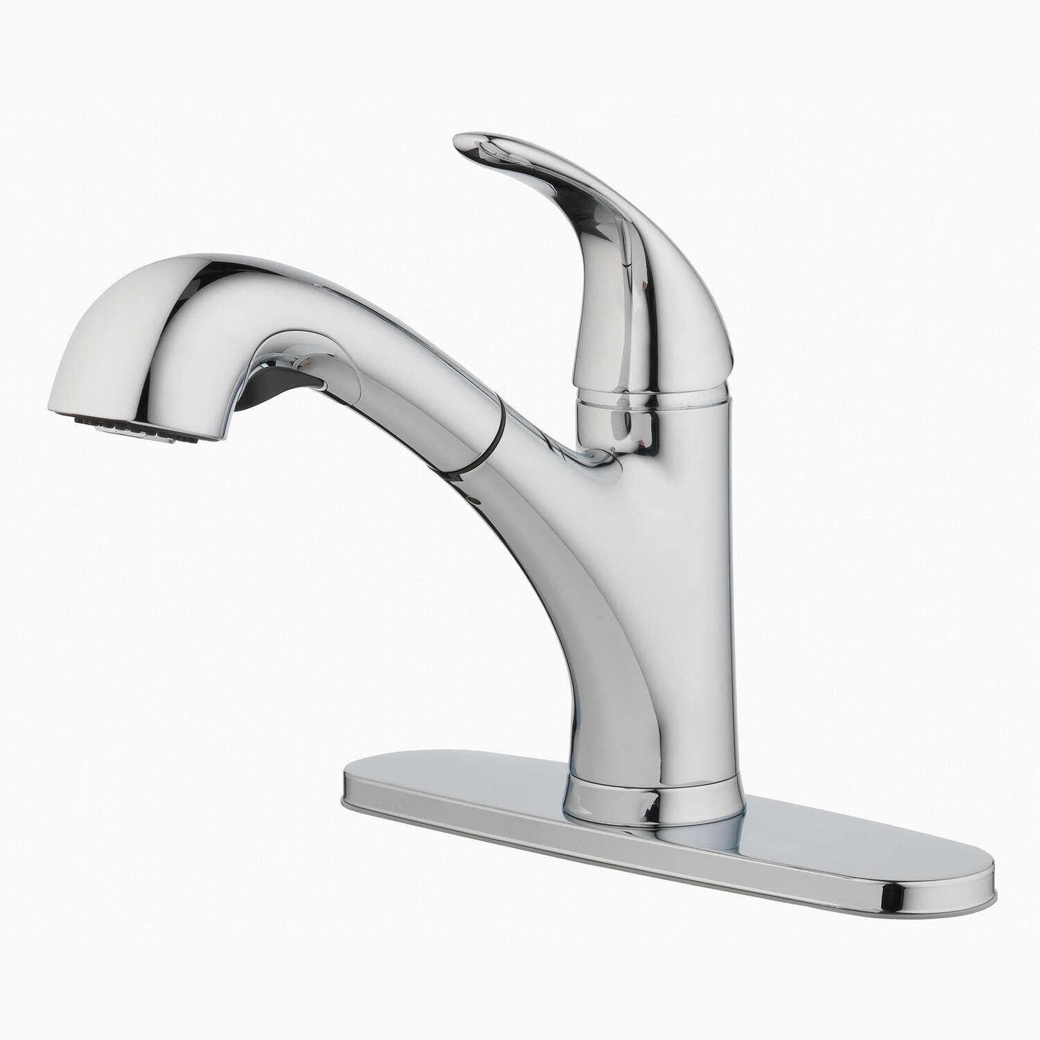 OakBrook Pacifica One Handle Brushed Nickel Pull Out Kitchen Faucet